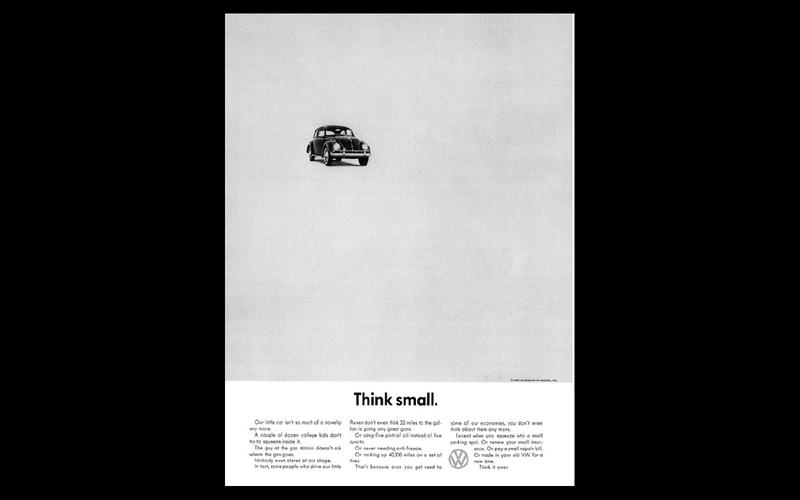 Volkswagen: Think Small
